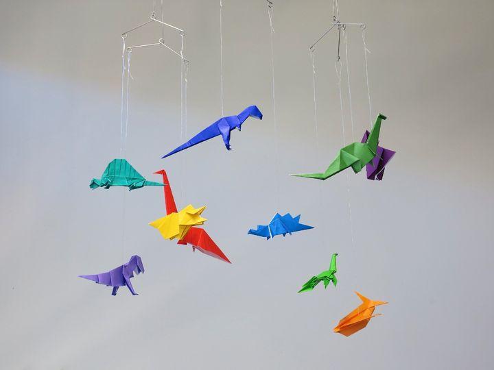 Подвеска с динозаврами
