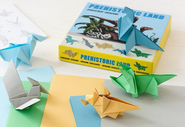 Динозавры-оригами
