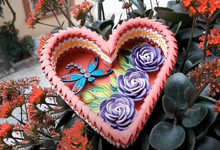 Модульное оригами-сердце
