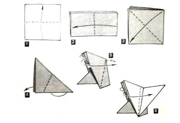 Пошаговая инструкция по сборке серветки-ежика в технике оригами